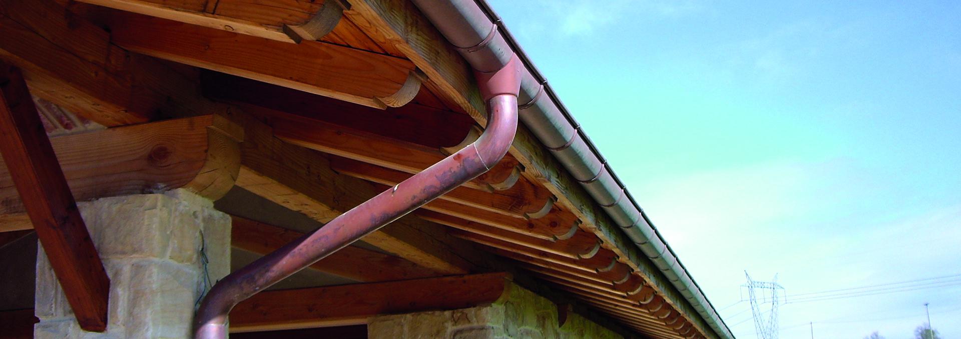 Servicios de limpieza y reparaci n de canalones ademas de - Instalacion de canalones ...